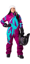 FXR Women's CX INSULATED MONO SUIT (2018)