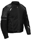 CASTLE CONTACT JACKET - Black