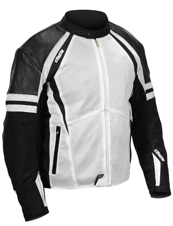 CASTLE CONTACT JACKET - White