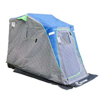 Clam Legend XL Thermal Flip Over Shelter - Ice Team Edition
