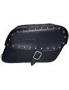 CASTLE JUMBO STUDDED KICKBACK SADDLEBAGS