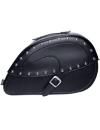 CASTLE STUDDED CONTOUR SADDLEBAGS