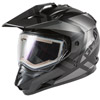 Gmax GM-11S Trapper Dual Sport Helmet w/ Electric Shield