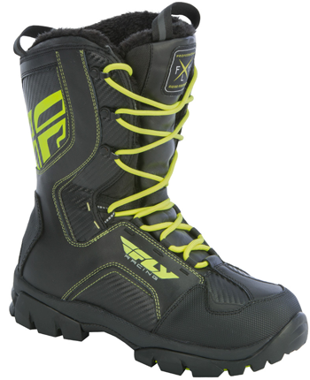 FLY MARKER BOOT (2018) - Black-Hi Vis