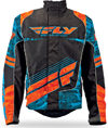 FLY SNX Wild Jacket - Blue-Orange