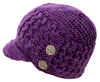 KLIM Women's PEAK BEANIE - Purple