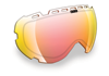 509 AVIATOR Goggle LENSES (2016) - Fire Mirror / Clear