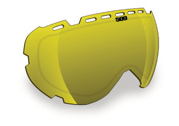 509 Aviator 2.0 Ignite Replacement Goggle Lenses Fire Mirror with Rose Tint Lens
