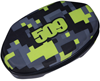 509 GOGGLE HARD CASE (2019) - Lime Camo