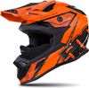 509 ALTITUDE CARBON FIBER HELMET - ORANGE w/FIDLOCK (2018)