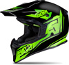 509 TACTICAL HELMET - BLACK LIME MATTE