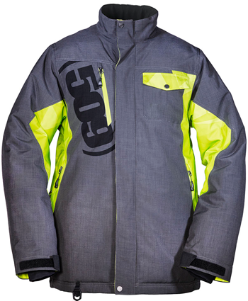 509 RANGE JACKET - LIME (2018) - Front View