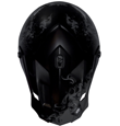 509 Evolution Helmet - Matte Black - Top View