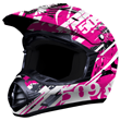 509 Evolution Helmet - Pink Splash