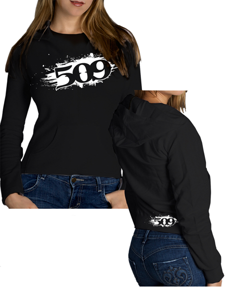 509 Women's PAINT PULLOVER HOODY