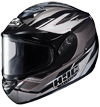 HJC CS-R2 SAWTOOTH HELMET w/DUAL LENS SHIELD (2015)