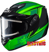 HJC CS-R2 SECA HELMET w/ELECTRIC DUAL LENS SHIELD (2015)