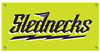 SLEDNECKS WRECKING SHOP 4 X 2 VINYL BANNER (2016)