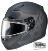 HJC CL-17 MISSION HELMET w/DUAL LENS SHIELD (2016)