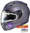 HJC CL-17 Women's MYSTIC HELMET w/ELECTRIC DUAL LENS SHIELD (2015)