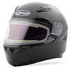 GMAX FF49 SOLID SNOW HELMET w/ELECTRIC SHIELD (2018)