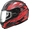 GMAX GM64S CARBIDE MODULAR HELMET w/DUAL LENS SHIELD (2017)