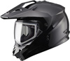 GMAX GM11S SNOW SPORT HELMET w/DUAL LENS SHIELD (2018) - Gloss Black