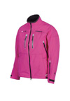 CHOKO ICEROCK Women's APEX SHELL JACKET  - Fuchsia-Black