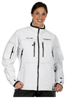 CHOKO ICEROCK Women's APEX SHELL JACKET  - White-Black