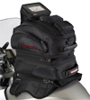 TOUR MASTER ELITE TRI-BAG TANK BAG w/Magnetic Mount Base