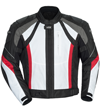 CORTECH VRX JACKET - White-Black-Red