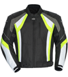 CORTECH VRX JACKET - Black-Hi Vis-White