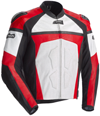 CORTECH ADRENALINE LEATHER JACKET - Red-White