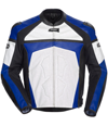 CORTECH ADRENALINE LEATHER JACKET - Blue-White