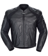 CORTECH ADRENALINE LEATHER JACKET - Black