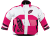 ARCTIVA Youth COMP JACKET (2017) - Pink-White