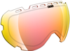 509 AVIATOR Goggle Lens - Fire Mirror / Clear