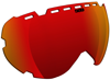 509 AVIATOR Goggle Lens - Red Mirror / Rose Tint