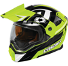 CASTLE X EXO-CX950 SLASH MODULAR DUAL-SPORT SNOW HELMET W/ DUAL LENS SHIELD (2018)