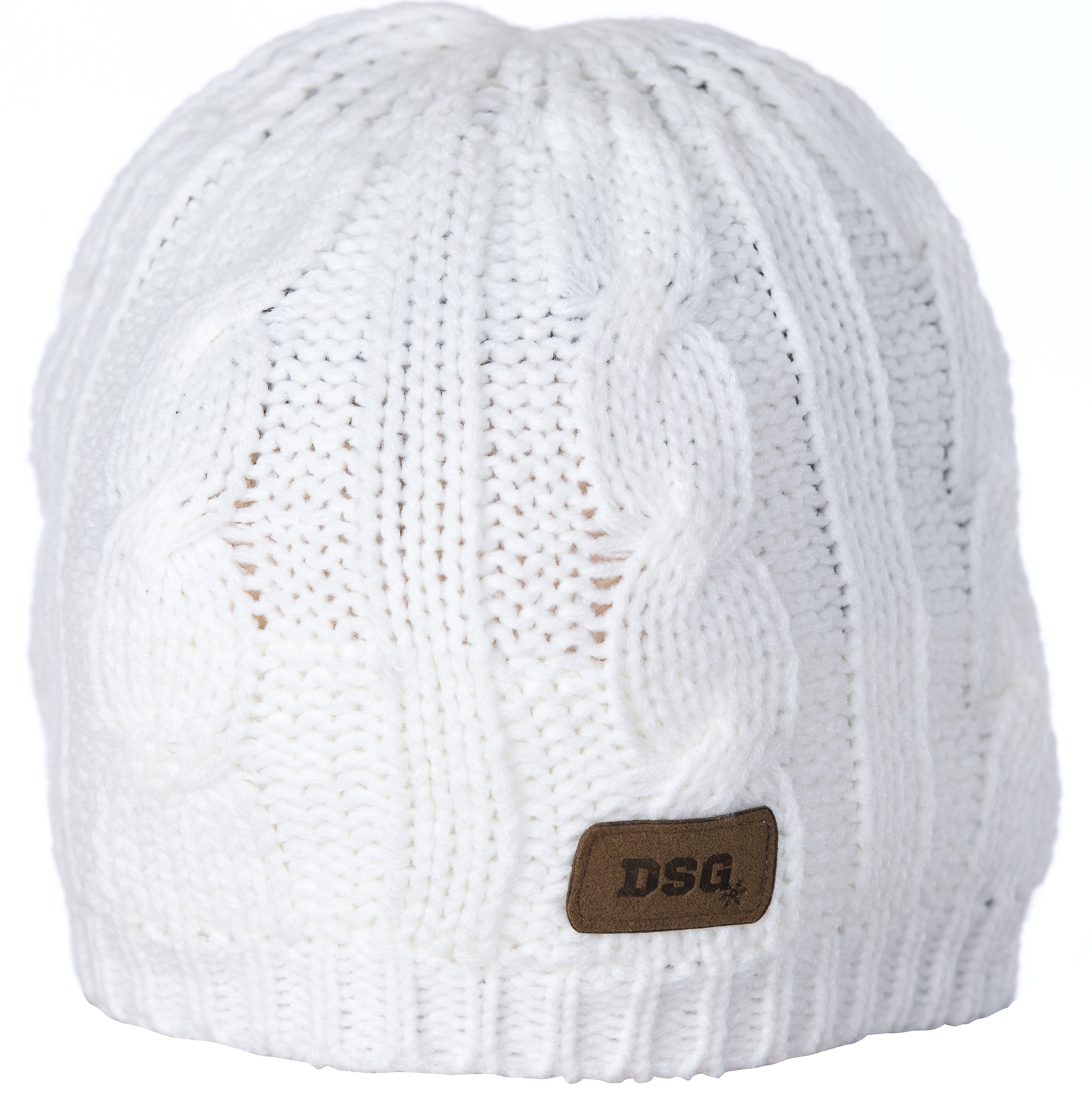 DSG CABLE KNIT BEANIE (2018) by Divas Snow Gear