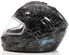 DSG GMAX GM54 MODULAR HELMET - AZTEC BLACK (2018) by Divas Snow Gear