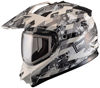 DSG GMAX GM11 CHECKED OUT HELMET - WHITE (2018) by Divas Snow Gear