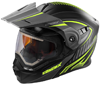 CASTLE X EXO-CX950 APEX MODULAR DUAL-SPORT HELMET w/ELECTRIC SHIELD (2017)