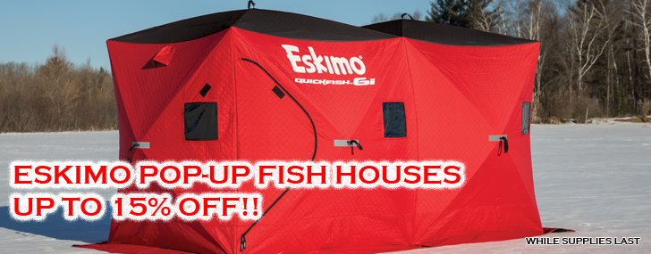 Portable Ice Fishing Houses & Accessories | Up North Sports