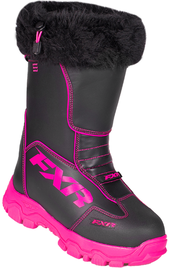FXR Women's EXCURSION BOOT (2018) - Black-Fuchsia