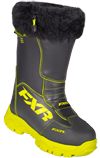 FXR Women's EXCURSION BOOT (2018) - Black-Hi Vis
