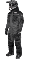 FXR Excursion Monosuit - Charcoal-Black