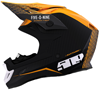 509 ALTITUDE CARBON FIBER HELMET - OFF GRID ORANGE w/FIDLOCK (2019)