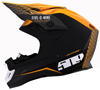509 ALTITUDE CARBON FIBER 3K HELMET - PARTICLE ORANGE w/FIDLOCK (2019)
