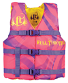 FULL THROTTLE YOUTH NYLON VEST - PINK (3005.6725)